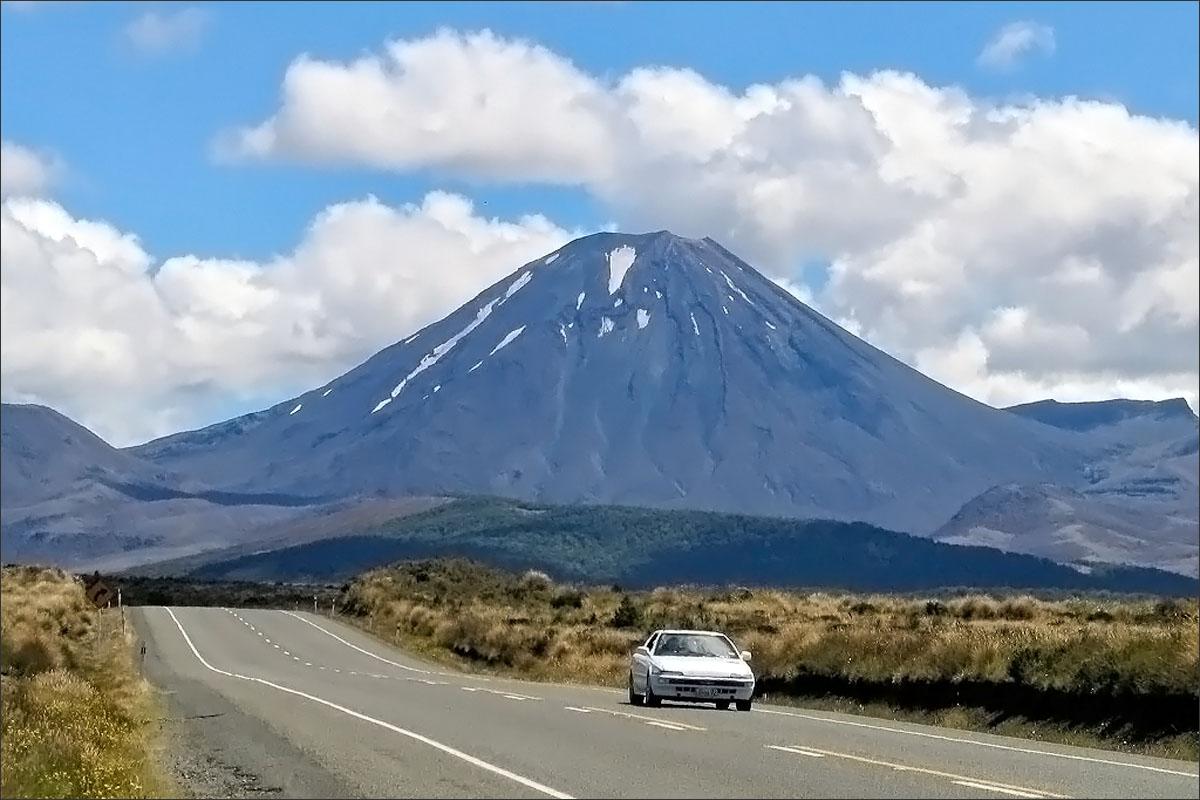 Tongariro National Park, Nieuw-Zeeland.