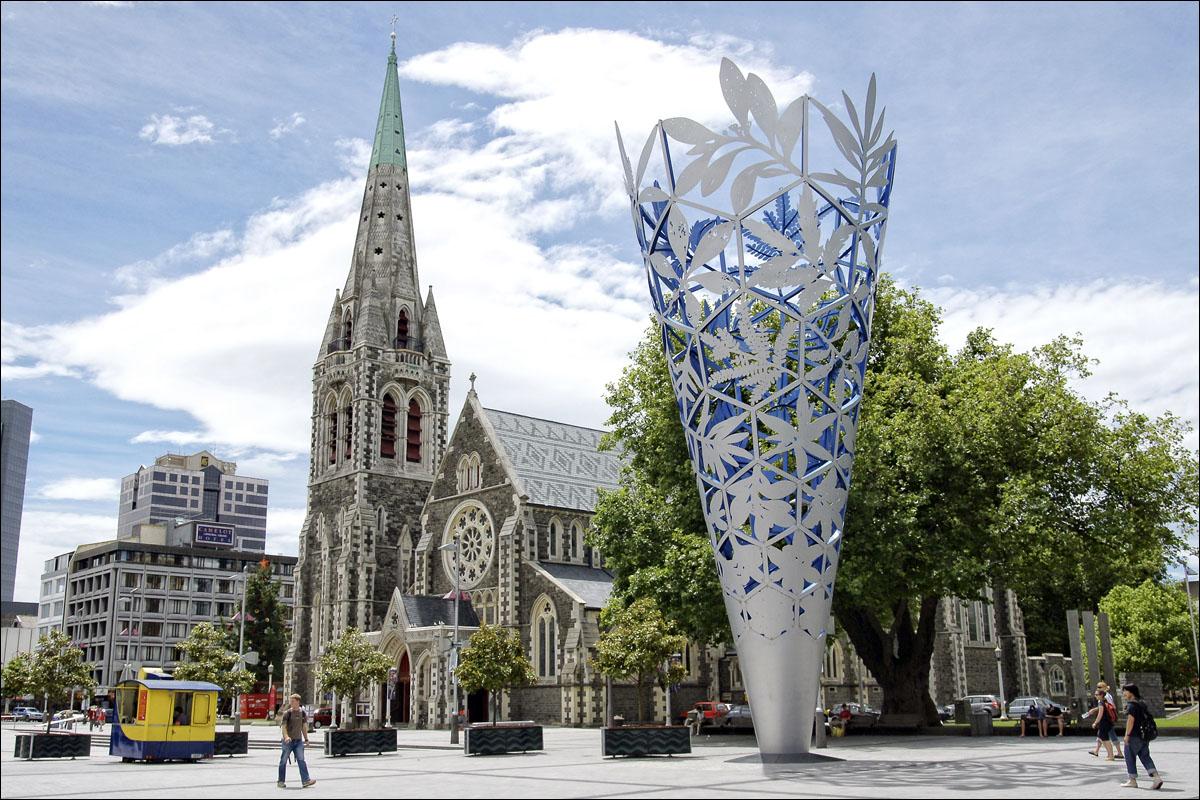 Christchurch Image: Nieuw-Zeeland, Informatie Over Christchurch